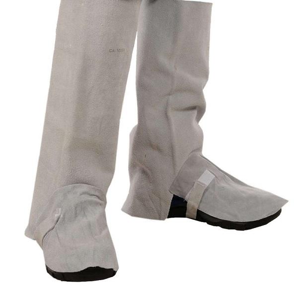 Perneira Raspa Fonte Segura Com Velcro Para Soldador   CA 18854 ... 475875b824