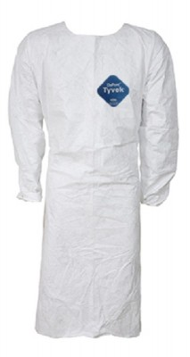 4444 - AVENTAL DUPONT FRONTAL BARBEIRO TYVEK BR TY276S