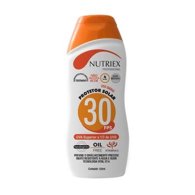 4459 - CREME NUTRIEX FPS 30 120 GR BISNAGA