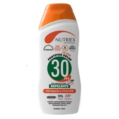 4461 - CREME NUTRIEX FPS 30 120 GR BISNAGA C/REPELENTE