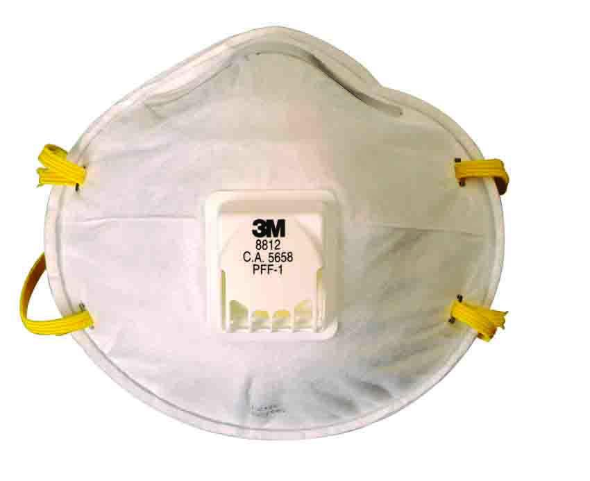 Respirador 3m 8812 Desc Valvulado Pff1