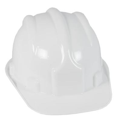 Capacete Plastcor Tipo Bone Branco Casco