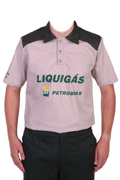 Camisa Polo Mc Liquigas Unipolo 5089 Cinza Mod 7008xx
